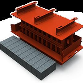 Maxi Block MK2 Mould (90x140x290mm)