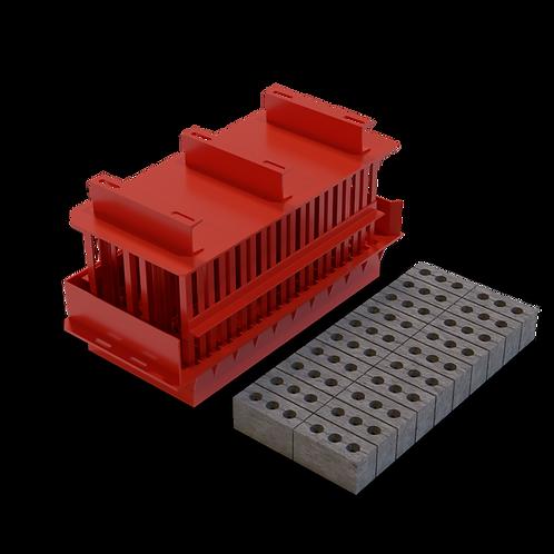 JJJAAMXC Maxi Cavity Brick MK3 Mould (90x114x222mm)
