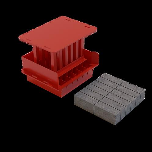 JJAA Stock Brick MK2 Mould (73x105x220mm)