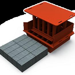 Maxi Solid Brick MK2 Mould (90x114x222mm)