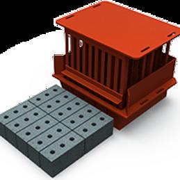 Maxi Cavity Brick MK2 Mould (90x114x222mm)