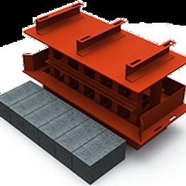 Modular Block MK3 Mould (150x150x300mm)