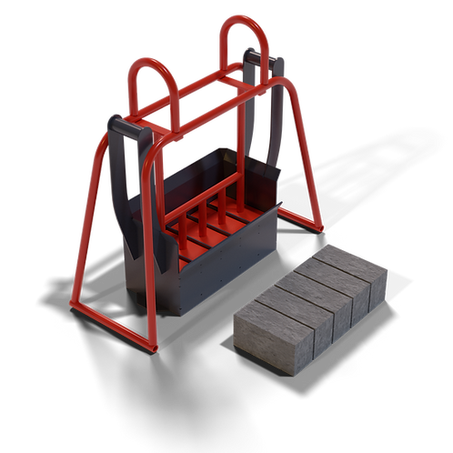 DIYAAMXS Maxi Solid Brick Hand Mould (90x114x222mm)