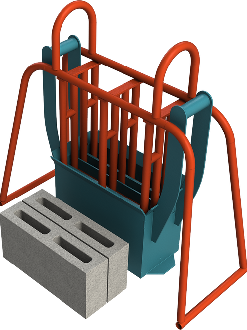 M4 Cavity Block Hand Mould (90x190x390mm)