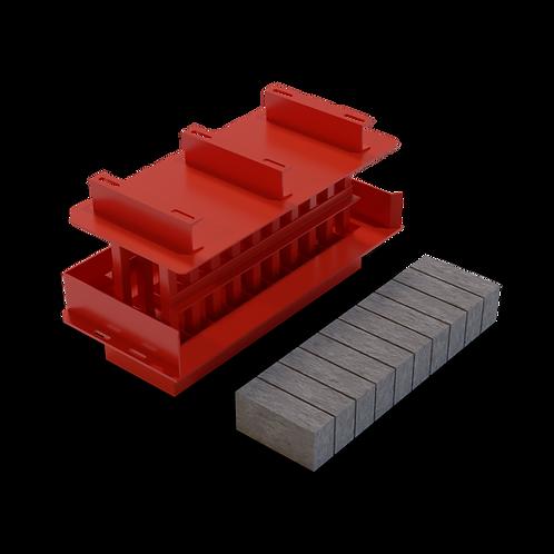 JJJBMXS Maxi Block MK3 Mould (90x140x290mm)
