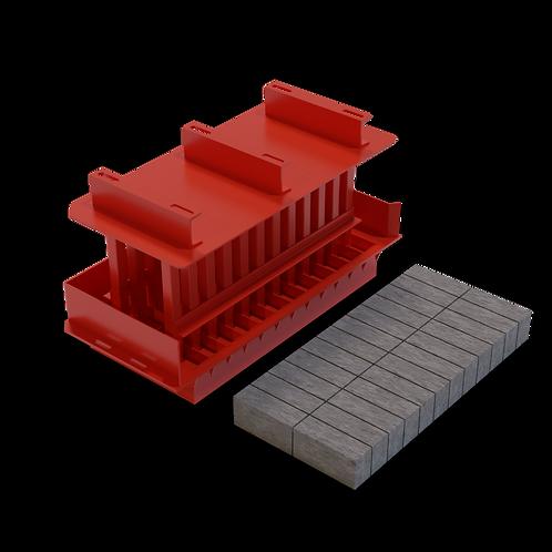 JJJAA Stock Brick MK3 Mould (73x105x220mm)