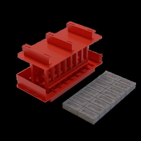 JJJAE London Stock Brick MK3 Mould (73x105x220mm)
