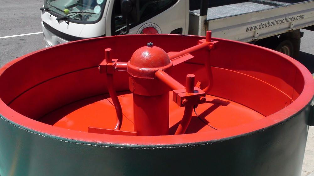 Doubell Pan Mixer 500 litre