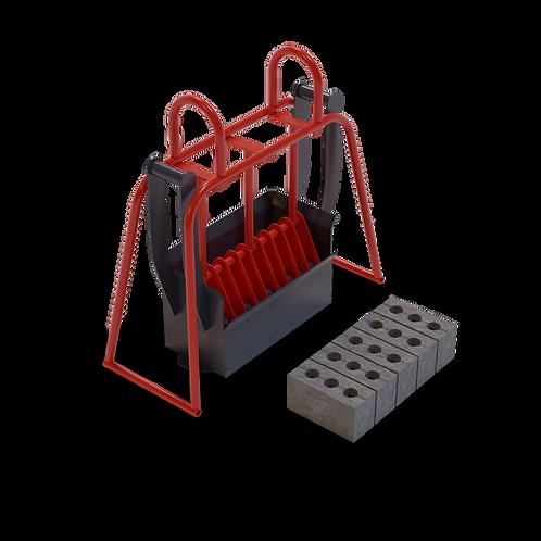 DIYAAMXC Maxi Cavity Brick Hand Mould (90x114x222mm)