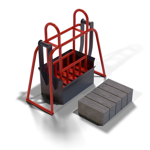 DIYBMXS Maxi Block Hand Mould (90x140x290mm)
