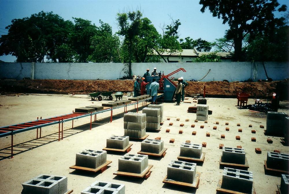 Doubell Hyperstat brickyard - M6 cavity blocks