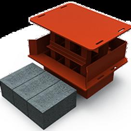 Modular Block MK2 Mould (150x150x300mm)