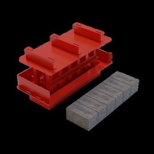 JJJBEEPS Modular Block MK3 Mould (150x150x300mm)