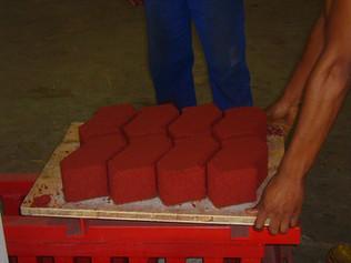Add Colour to Paving Bricks Cheaply