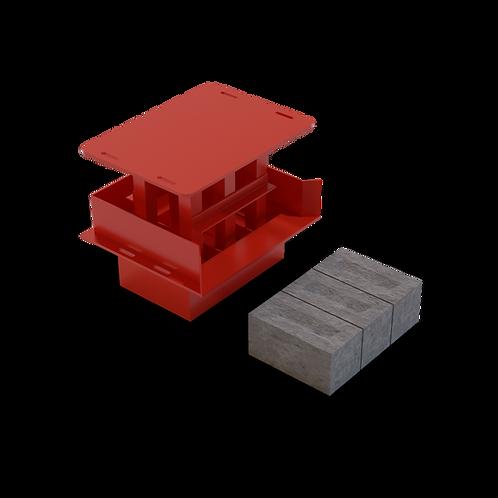JJBEEPS Modular Block MK2 Mould (150x150x300mm)