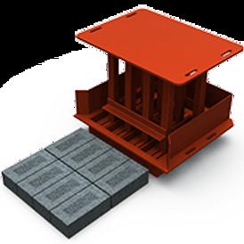 London Brick MK2 Mould (73x105x220mm)