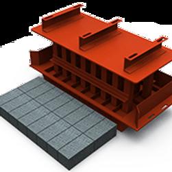 Super Brick MK3 Mould (100x100x200mm)