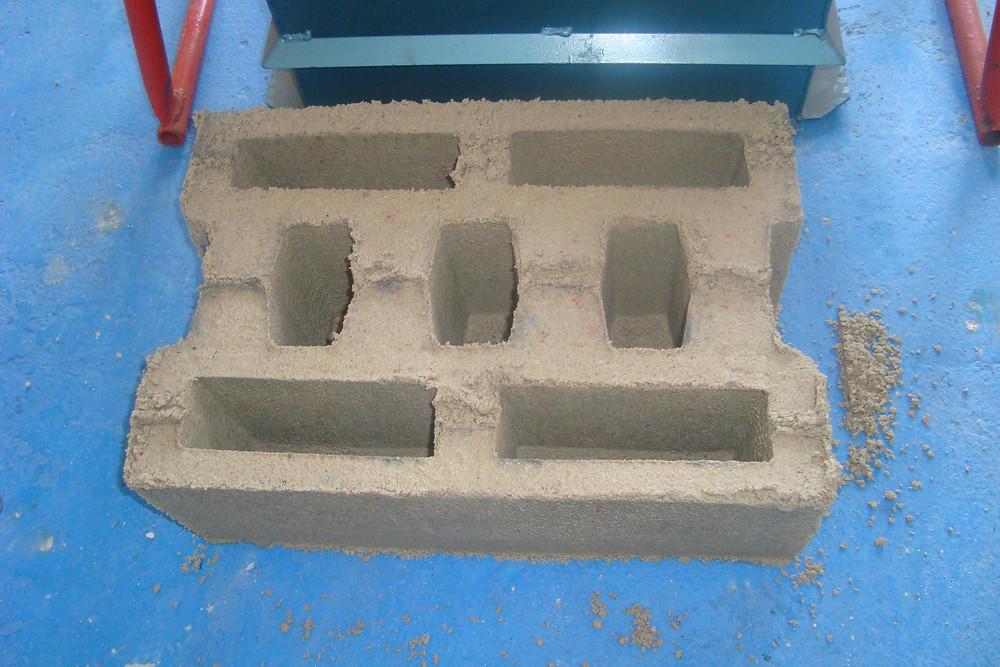 custom brick machine mould