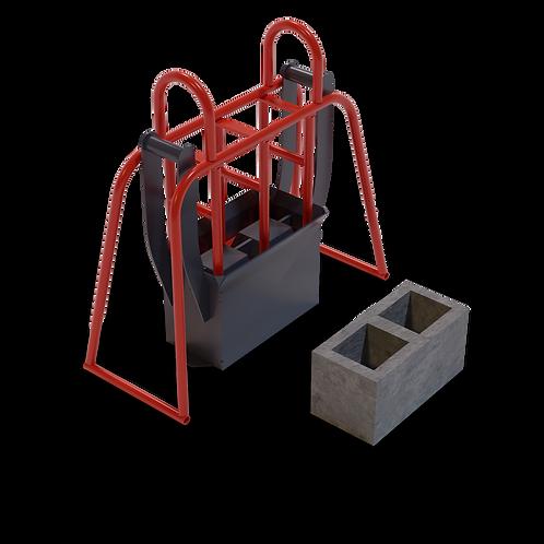 DIYBAM M9 Cavity Block Hand Mould (190x190x390mm)