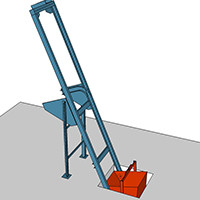 Using a Skip-Loader to Speed up Brick Production
