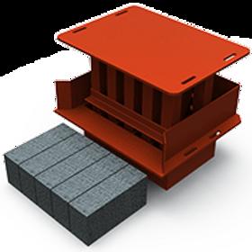 Maxi Block Jumbo MK2 Mould (90x140x290mm)
