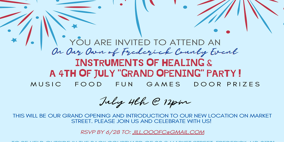 July 4th - Open House Event