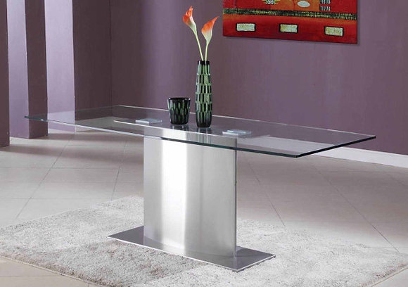 Small Glass Top Conference Table