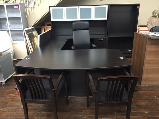 Modern U-Shape Executive Desk