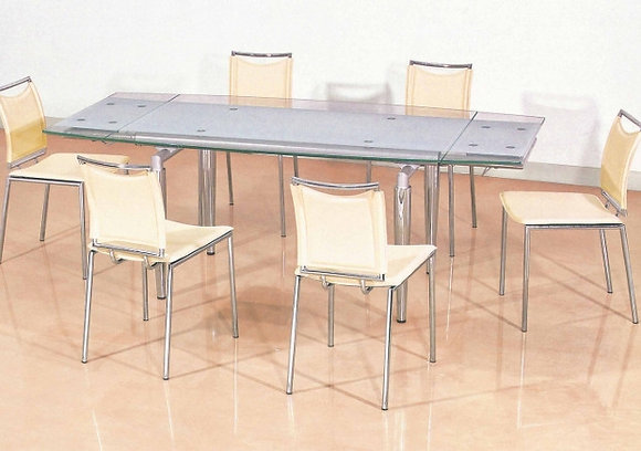Glass Extension Top Conference Table
