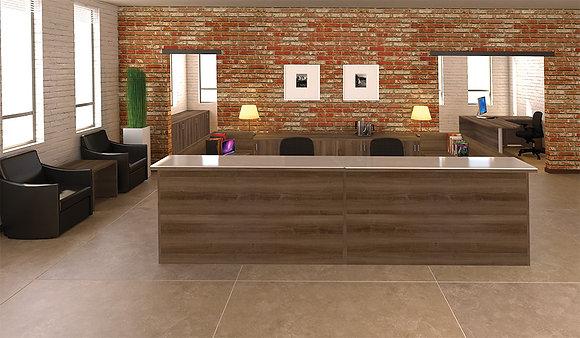 Amber Receptionist desk