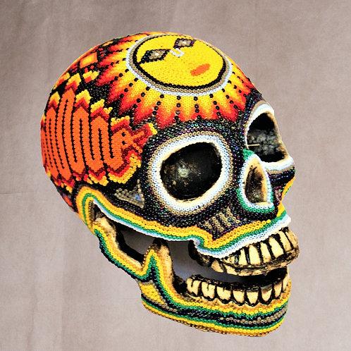 "Huichol Art ""Calavera Snake"""