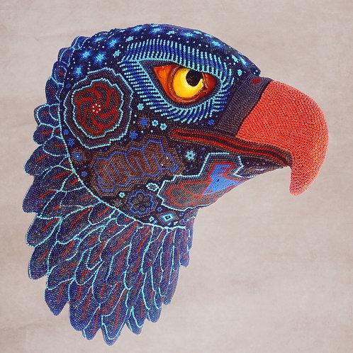 "Huichol Art ""Cosmic Eagle"""