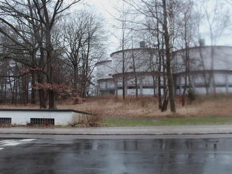 Watertower in the cross between Trongårdsvej and Hjortekærvej