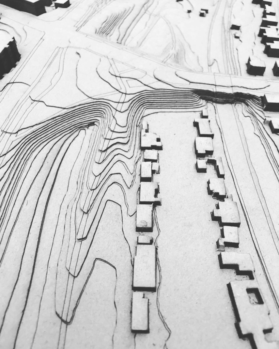 Model of Grøndalsparken