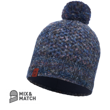 BUFF® Knitted & Polar Hat - MARGO BLUE