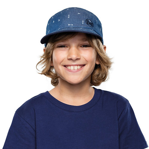 BUFF® 5 PANELS CAP JUNIOR - ARCHERY BLUE