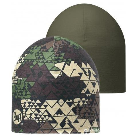 BUFF® COOLMAX REVERSIBLE HAT MILITARY/OLIVE