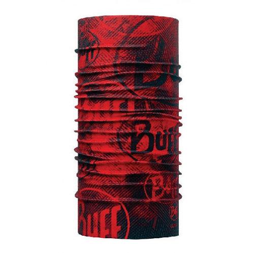 BUFF® COOLMAX HIGH UV TUBULAR - CRASH FIERY RED