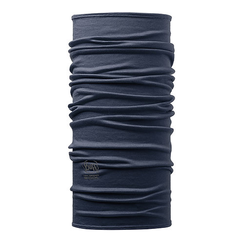 BUFF® Lightweight Merino Wool Tubular - SOLID DENIM