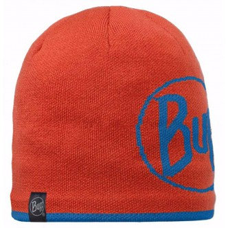 BUFF® KNITTED HAT ORANGE LOGO HAT