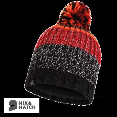 BUFF® Knitted & Polar Hat - STIG BLACK