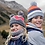 Thumbnail: BUFF®  CHILD KNITTED & POLAR HAT ARILD GREY CHILD