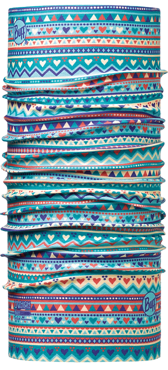 BUFF® JUNIOR HIGH UV TUBULAR HANDICRAFT TURQUOISE