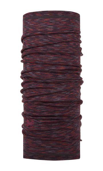 BUFF® Lightweight Merino Wool Tubular Shale Grey Multi Stripes