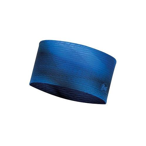 BUFF® Coolnet® UV+ Headband SPIRAL BLUE