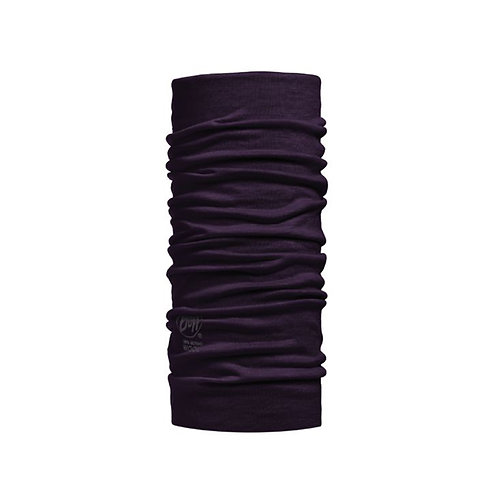 BUFF® Lightweight Merino Wool Tubular - SOLID PLUM