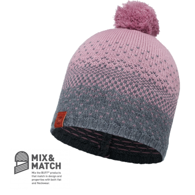 BUFF® KNITTED HAT MAWI LILAC SHADOW