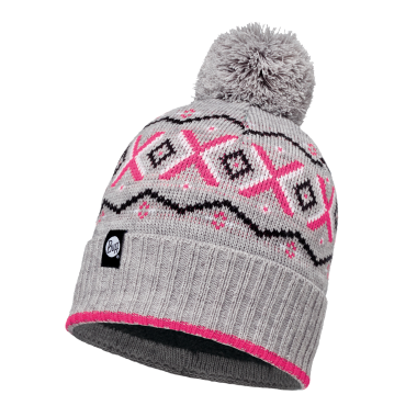 BUFF® KNITTED HAT - ASPEN MELANGE GREY