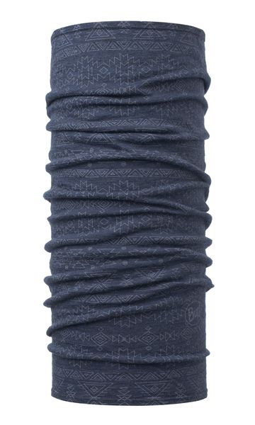 BUFF® Lightweight Merino Wool Tubular Edgy Denim