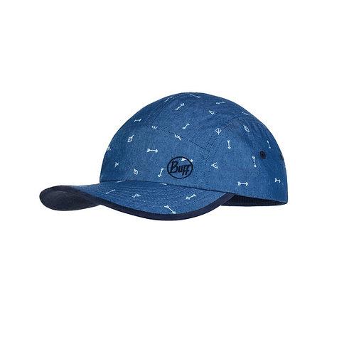 BUFF® 5 PANELS CAP JUNIOR - ARCHERY BLUE